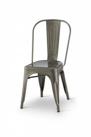 Vintage Metal Indoor Dining Chair
