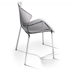 Infiniti Glossy Chair Pack of 2