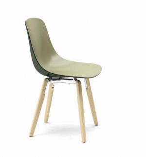 Infiniti Pure Loop Binuance Wooden Leg Chair
