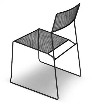 Area Declic Log Mesh Chair - 4 Pack