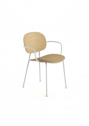 Infiniti Tondina 4 Leg Chair with Arms